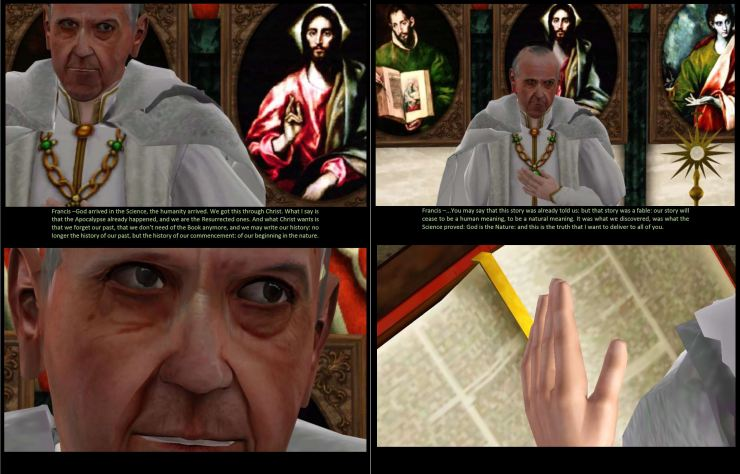 DEVIL GOES ON VATICAN - PARTS II AND III - PG1