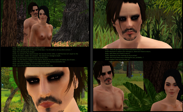 DEVIL GOES ON HOLLYWOOD-JOHNNY DEPP-THE SEX-PARTII-I-THE PASSAGE OF THE DESIRES- THE CONCORDANCE OF THE SENSES-PG17